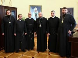 Сотрудничество Кемеровской епархии с католицизмом