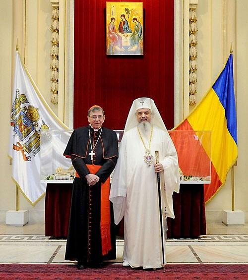 Румынский Патриарх с кардиналом Кохом