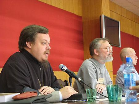 о. Чаплин, Всеволод Анатольевич на конференции секты о. Георгия Кочеткова