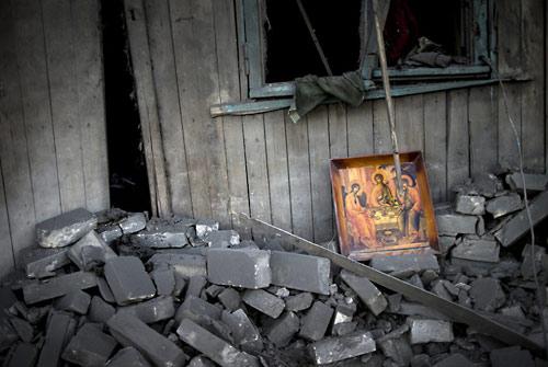 О. Чаплин беседует с призраком Украины