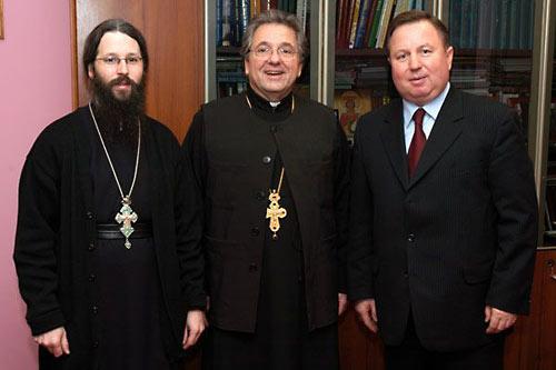 О. Закхей (Вуд), Роберт Кондратик и Валерий Алексеев.