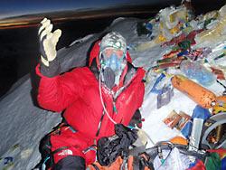 """Экспедиция """"Эверест 2012?. О. Федор Конюхов на вершине"""