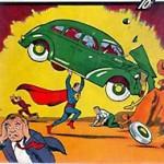 массовая культура: первый выпуск комикса про Супермена.
