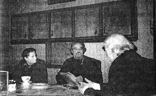 Поснова, Ирина Михайловна, о. Александр Мень и А. Ильц в Брюсселе. 1990 г.