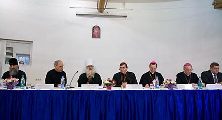 Экуменический форум в Минске. Ноябрь 2011 г.