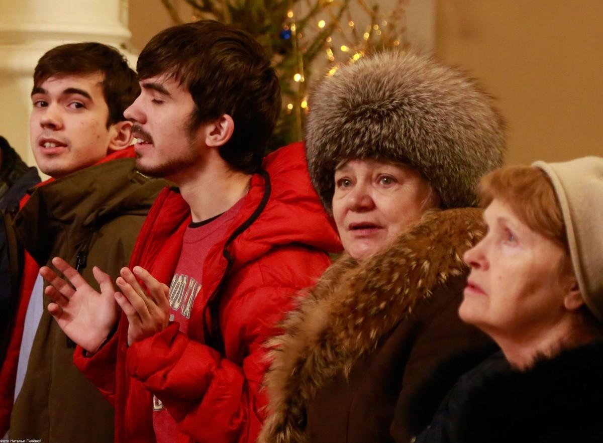 Экуменическая молитва в Москве