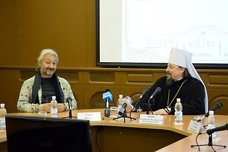 Стас Намин и митр. Иоанн Белгородский