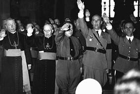 Геббельс, Фрик и католические иерархи.