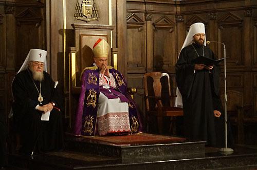 Католическо-православная вечерня