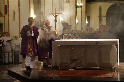 Католическо-православная вечерня.
