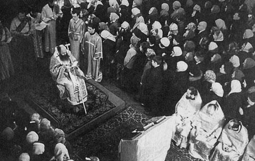 Движение «литургического обновления». Литургия апостола Иакова