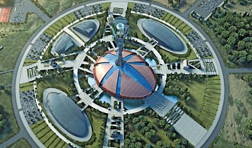 Парк мировых религия