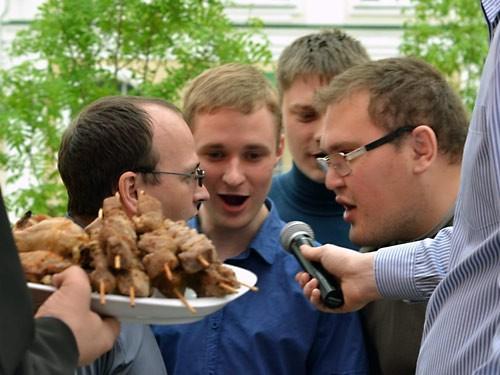 В воскресение 11 мая в Хабаровской духовной семинарии состоялась кощунственная инсценировка ветхозаветной Пасхи.