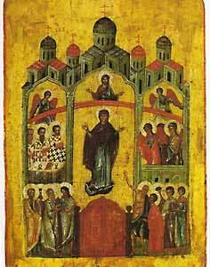 Слово в день Покрова Пресвятыя Богородицы