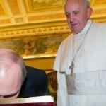 Путин и папа