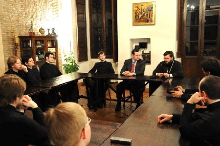 """Православные студенты в общине """"св. Эгидия"""""""