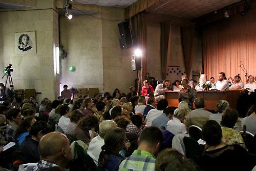 """24-25 августа в Подмосковье состоялся двадцать четвертый """"собор"""" секты о. Георгия Кочеткова под названием «Где двое или трое собрались во имя Мое, там и Я посреди них»."""