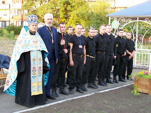 """Православная часовня в честь """"Небесной сотни"""""""