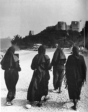 Крестный ход по пути Святой Нины. 1989 г., Мцхета.