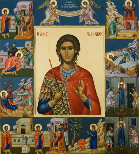Святой мученик Фанурий