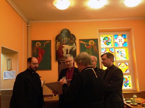 Экуменисты-лютеране в православной школе в Свиблово