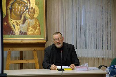 Константин Симон в ПСТГУ.