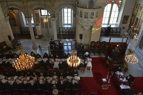 встрече иерархов Константинопольского Патриархата 29 августа - 2 сентября