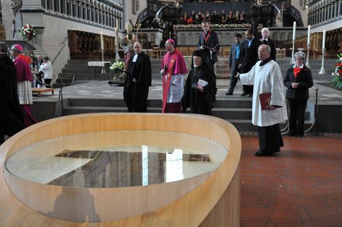 Экуменическое крещение в Трире. 2012 г.