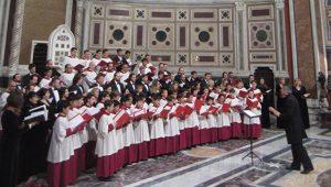 Спелись! Папская капелла и Синодальный хор выступили в римской базилике