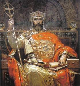Царь Симеон Болгарский