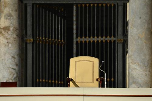 Последняя аудиенция Бенедикта XVI