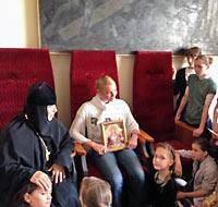 Анастасия Волочкова в монастырском приюте