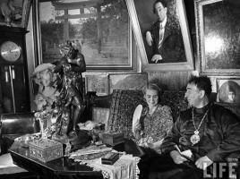 """обновленческий """"митрополит"""" Александр Введенский. Фото Маргарет Бурк-Уайт для журнала Life. Июнь 1941 г."""