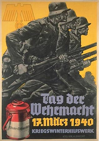 День вермахта. 1940 г. Национал-социалистический плакат