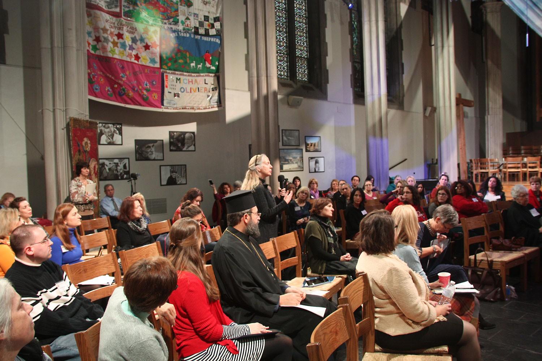 Конференция сторонниц женского священства.