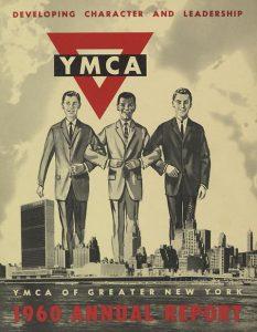 """Иллюстрация к статье """"Элита"""": """"Воспитываем характер и лидерские качества"""". Плакат общества YMCA (1960)."""
