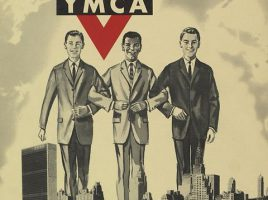 Плакат общества YMCA (1960).